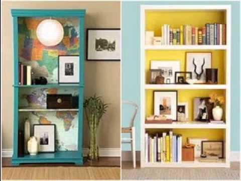 creative bookshelf ideas-Youtube